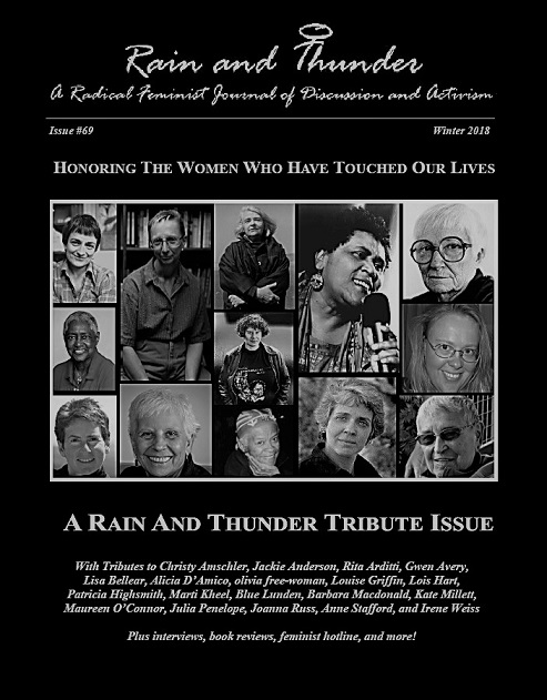 With Tributes to Christy Amschler, Jackie Anderson, Rita Arditti, Gwen  Avery, Lisa Bellear, Alicia D'Amico, olivia free-woman, Louise Griffin,  Lois Hart, ...